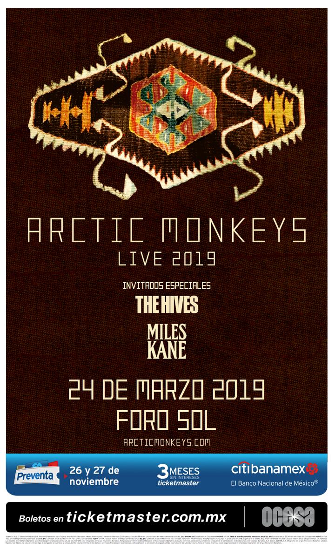 Arctic Monkeysregresarána la Ciudad de México