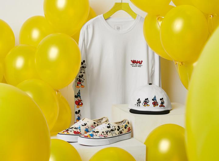 Mickey Mouse cumple 90 años y Vans lo celebra en grande