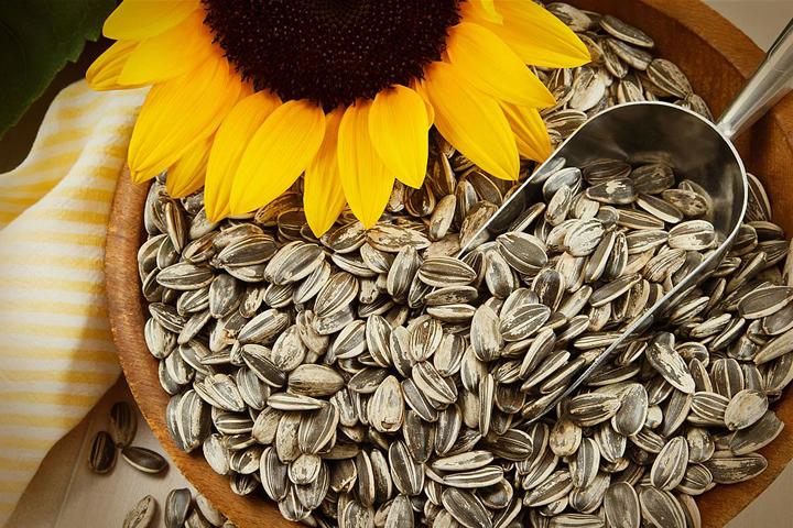 Los beneficios de comer semillas de girasol