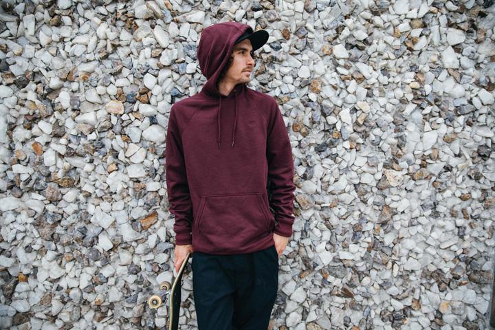La hoodie para el invierno