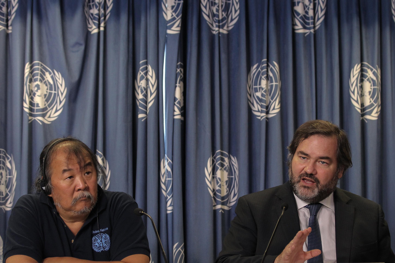 """Grupo de la ONU dice que en caso Aristegui hubo """"grave violación de DD.HH."""""""