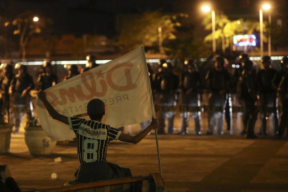 Miles de brasileños protestan en Sao Paulo contra Temer y piden elecciones adelantadas