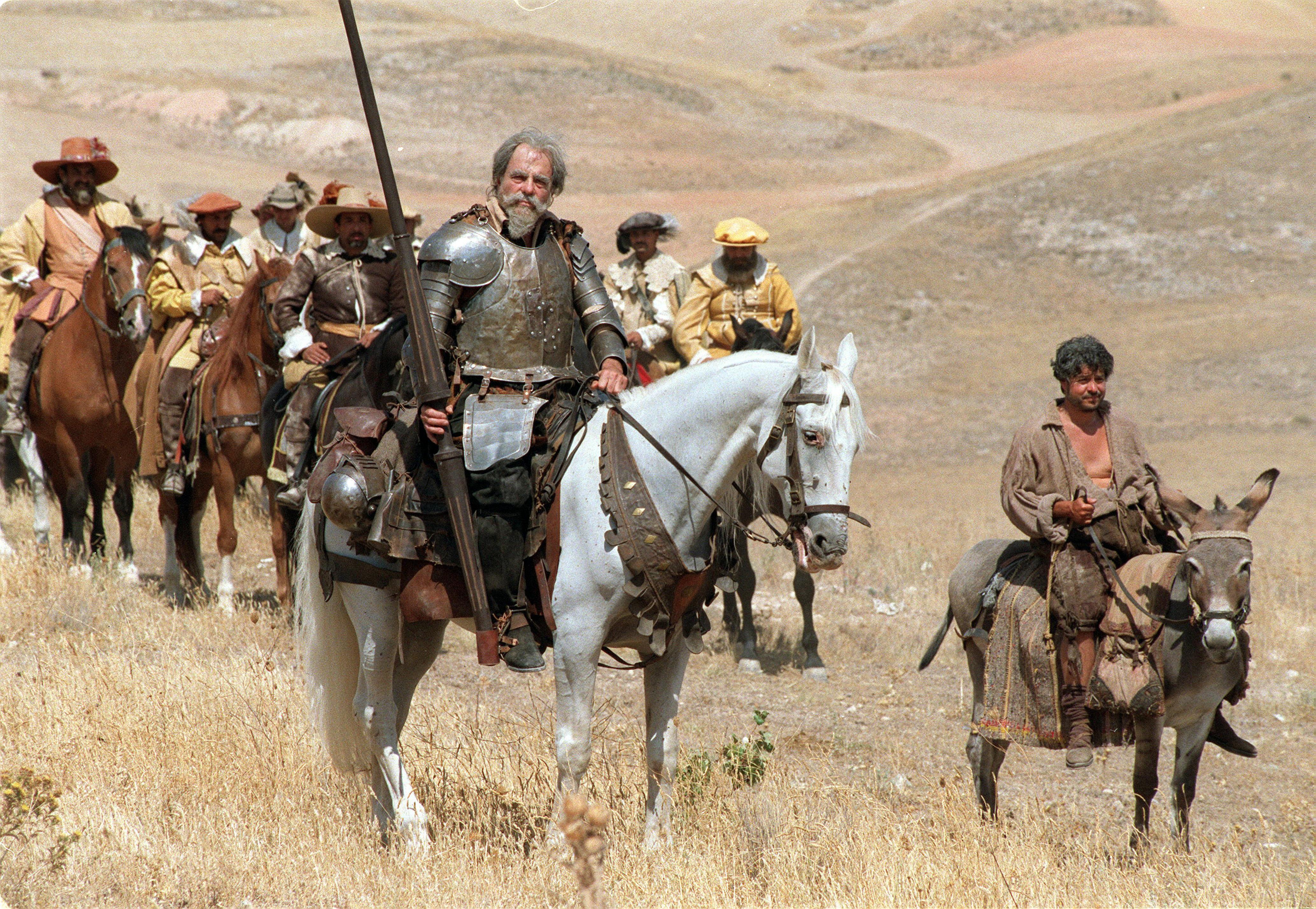 Don Quijote no se atreve a cruzar el Sáhara