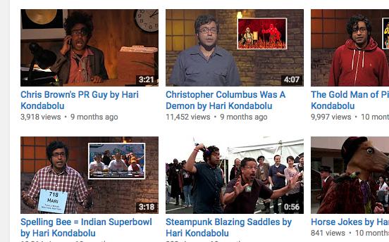 Comedia negra india estadounidense