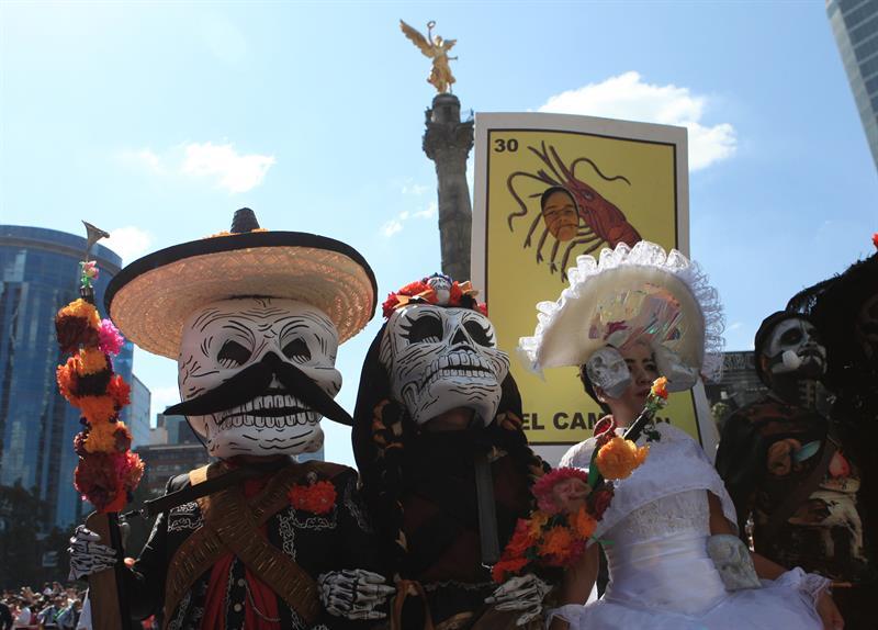 Primer desfile del Día de Muertos en CDMX