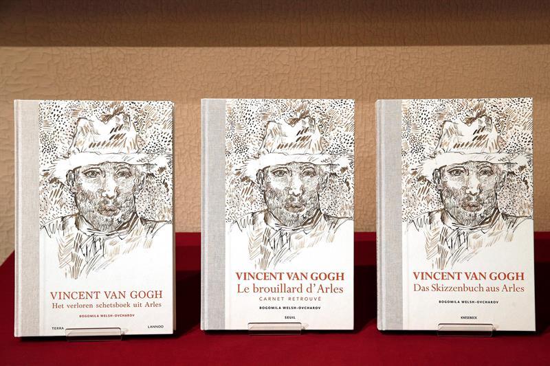 Cuaderno con dibujos inéditos de Van Gogh es descalificado por el museo homónimo del artista