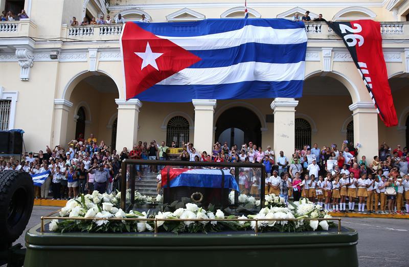 """""""Caravana de la Libertad"""" cortejo fúnebre de Fidel Castro"""