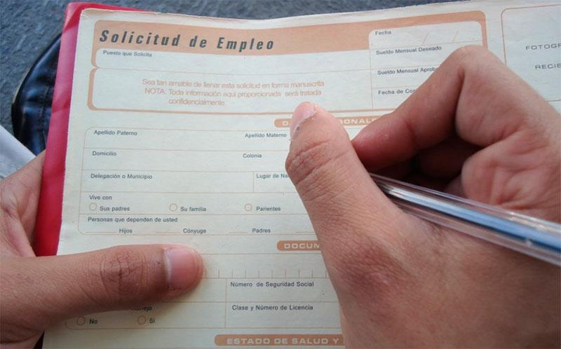Baja un 4% las cifras de desempleo en México