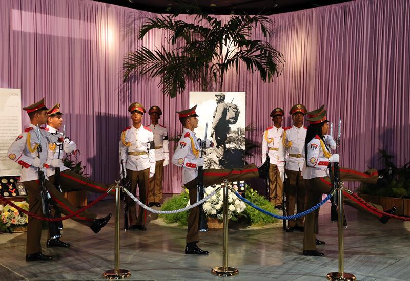 Da inicio tributo a Fidel Castro en toda Cuba