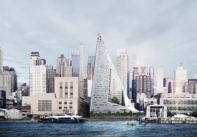 """El edificio """"Via 57 West"""" gana el Premio Internacional de Rascacielos"""