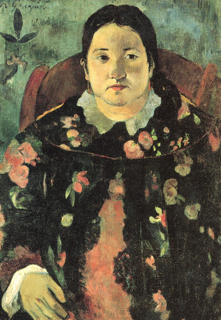 "Restaurarán el cuadro ""Retrato de Suzanne Bambridge"", de Paul Gauguin"