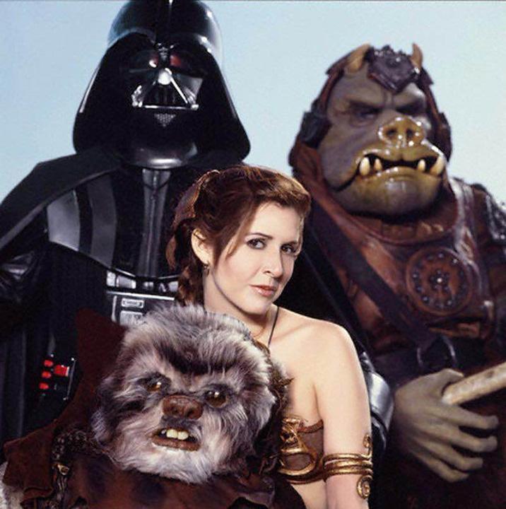 En paz descanse la Princesa Leia