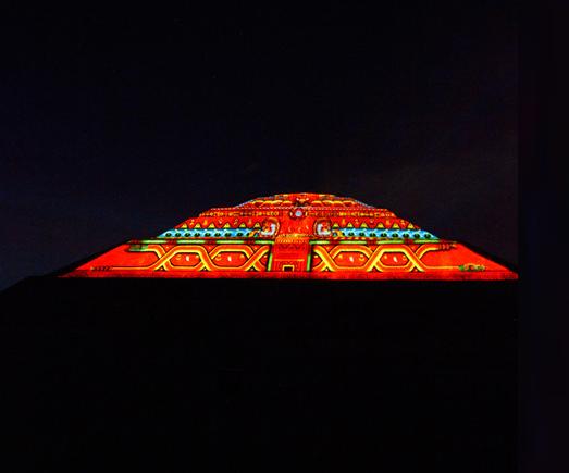 Experiencia nocturna en Teotihuacán