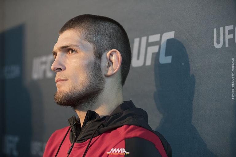 Khabib Nurmagomedov fuera de UFC