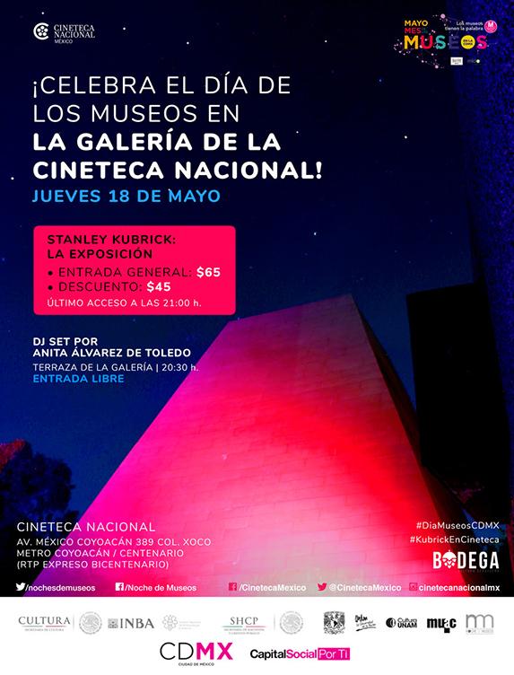 Día de los museos en la Galería de la Cineteca Nacional