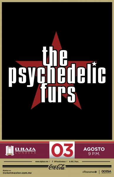 The Psychedelic Furs regresan a México