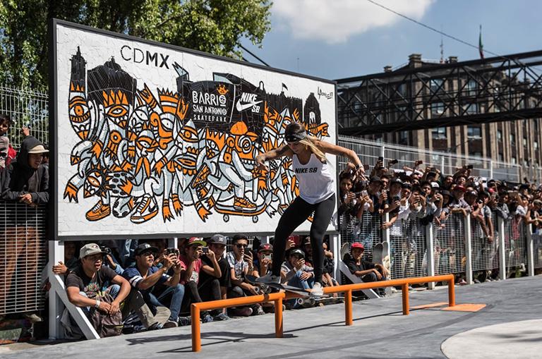 Nike SB inaugura su nuevo skatepark en la Ciudad de México