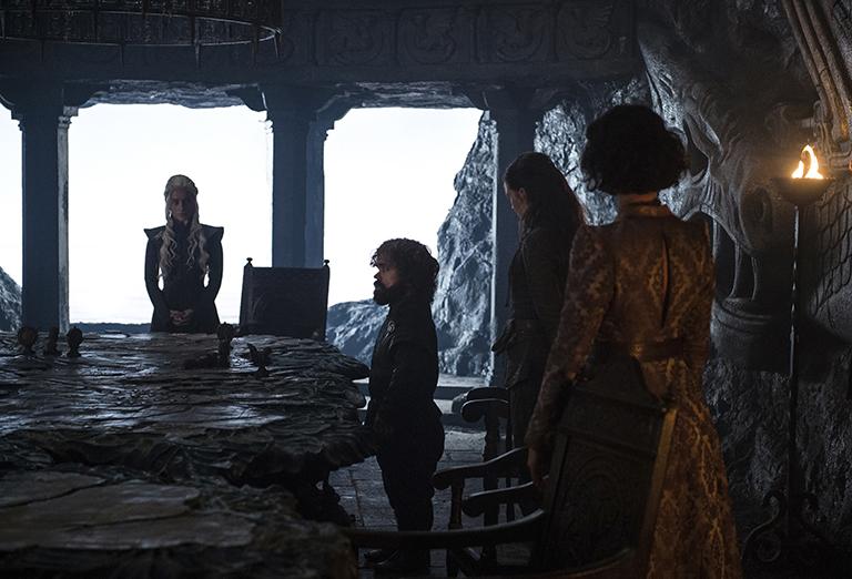 ¡Imágenes inéditas de Game of Thrones!