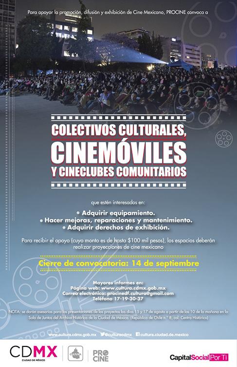 Convocatoria para la Exhibición del Cine Mexicano