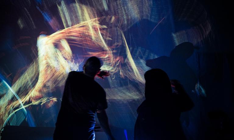 Festival Locomoción transformó al Barrio de la Merced en un nuevo escaparate para la animación