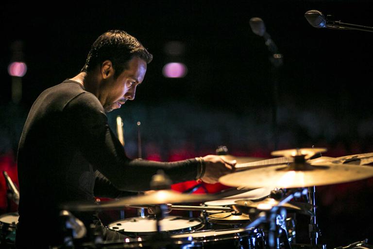 Birdman musicalizada en vivo por Antonio Sánchez