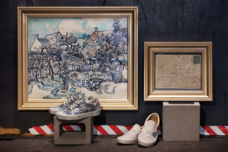 Vans y Van Gogh Museum Amsterdam se unen para lanzar una colección única para verdaderos fans