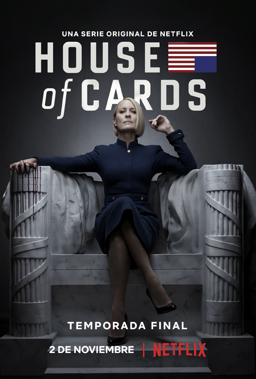 Se viene la sexta y última temporada de House of Cards