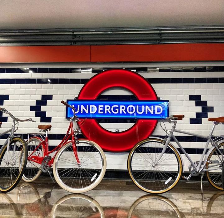 Metro al estilo Londres