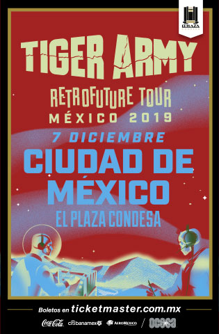 Tiger Army regresa a México